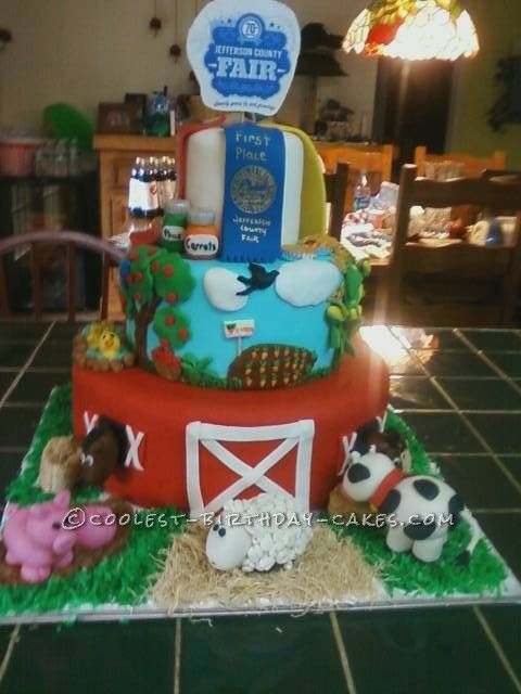 Cool County Fair Cake ... This website is the Pinterest of birthday cakes