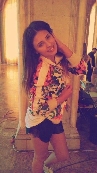Antonia, singer Puma Etno Star Jacket by Lana Dumitru  #lana #dumitru #lanadumitru #digitalprint