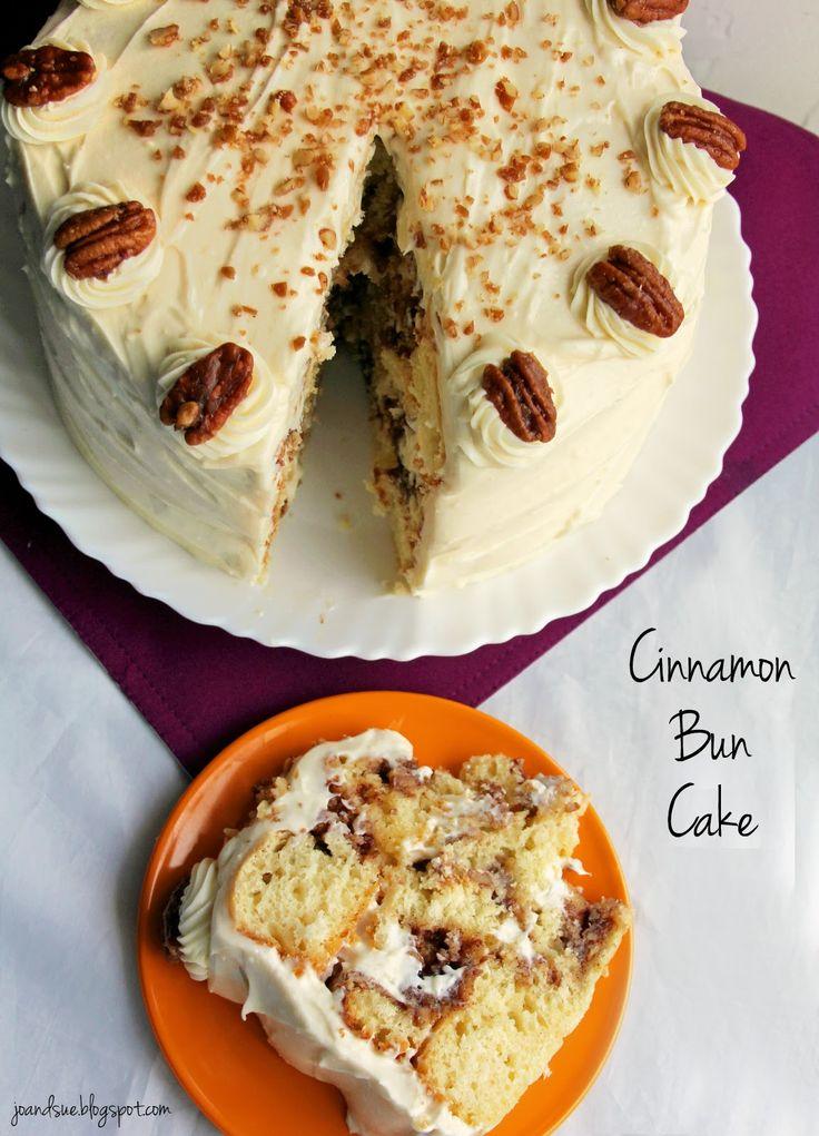 Jo and Sue: Cinnamon Bun Cake (Take 2)