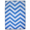 Christmas at #htfstyle. Chevron Outdoor Rug Blue - hardtofind. from $85.00 #hardtofind #white #blue #chevron #rug #outdoor