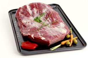 Aleta de Ternera para rellenar. Sirve para estofar, guisar, asar..., es una pieza que acepta multitud de formas de cocina. Es un tipo de carne magra y con poco grasa. Hay gente que la trocea y la utiliza para la fondue.  Tu marca de calidad en Carne Online.