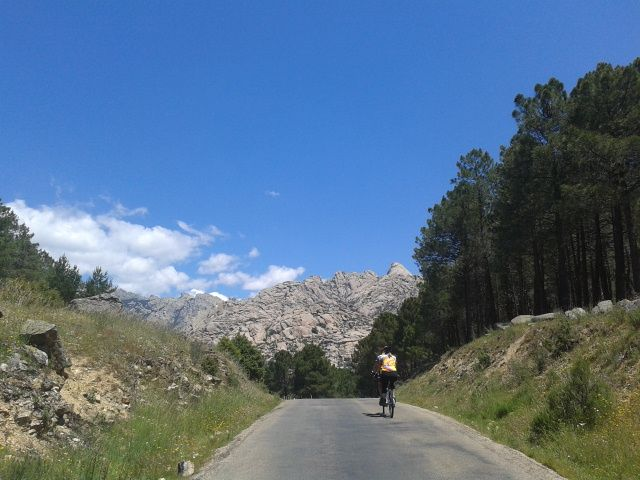 Guadarrama National Park. 45 min. outside Madrid.