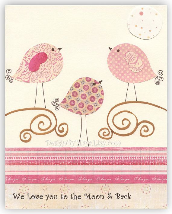 Nursery print baby girl Decor Children Room by DesignByMaya, $17.00