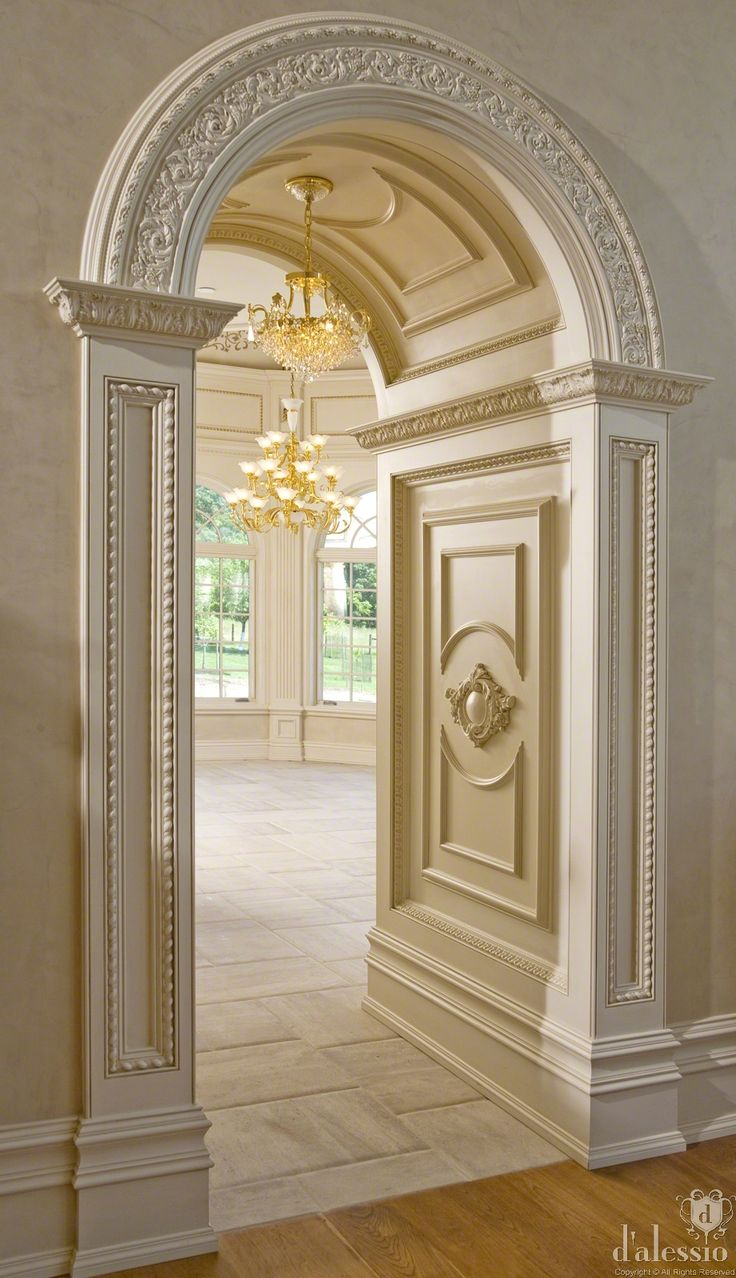 Showcase - European Inspired Kitchen beautiful door frames