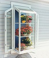 Pella garden window review garden ftempo for Best vinyl windows reviews