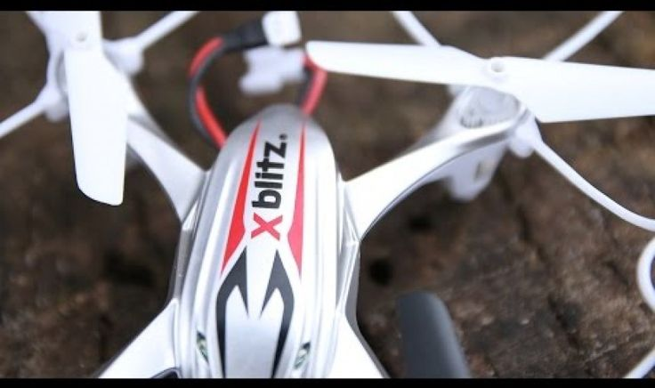 XBlitz – Remote Controlled Drone Quadcopter with Camera