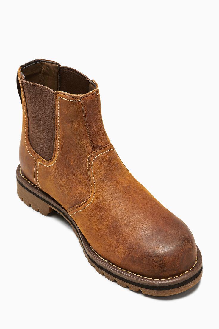 Mens Timberland Tan Oakwood Larchmont Chelsea Boot Brown