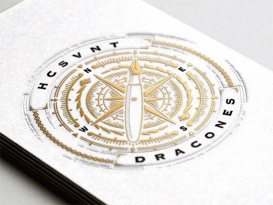 Beautiful Letterpress Designs by Joe White