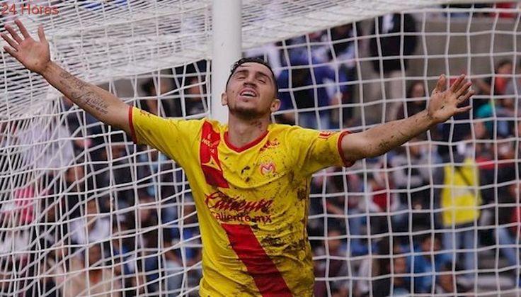 Diego Valdés marcó por el Morelia en triunfo ante Lobos BUAP en la liga mexicana