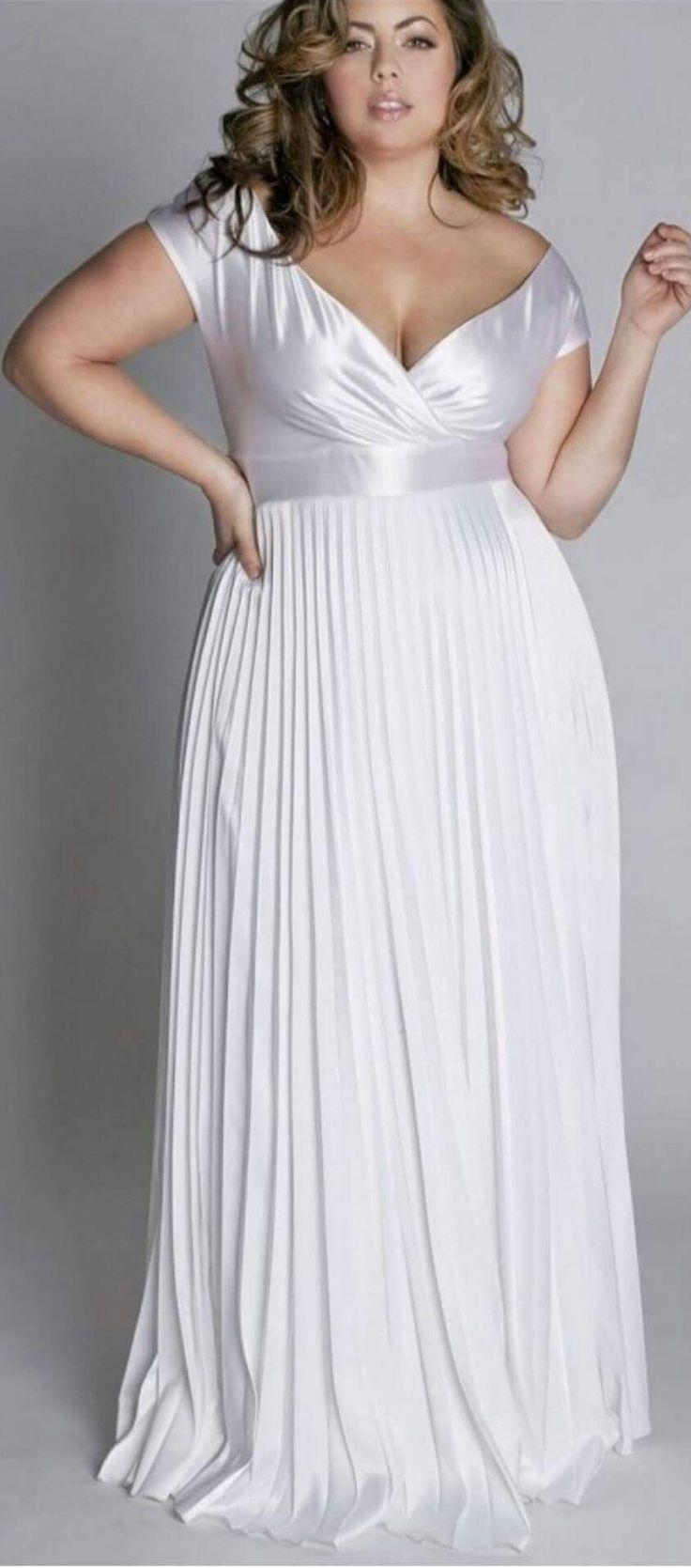 8 best wedding dresses for older brides images on for Plus size dress for wedding reception