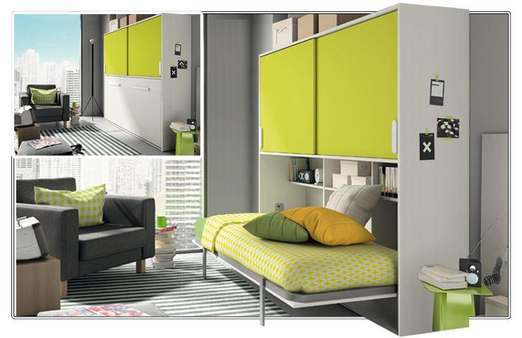 mueble diseñado para aprovechar hasta el último metro cuadrado ¿Te