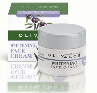 OLIVALOE Whitening face cream for dark spots & blemishes 40ml