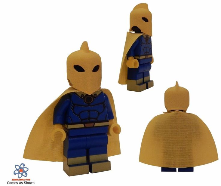 Custom Printed Atomic Bricks Toys Super Hero Dr Fate DC Minifigure NEW #Lego