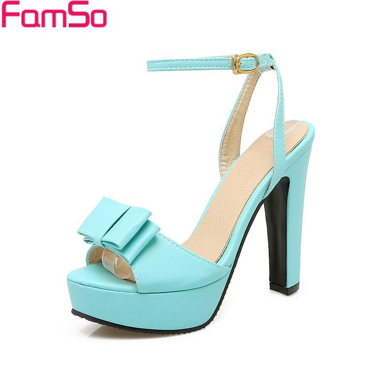 Big Size 34-43 2017 New Arrival shoes For Women Peep toe High Heels Ankle Strap Pumps Summer Female Office Sandals  PS2876
