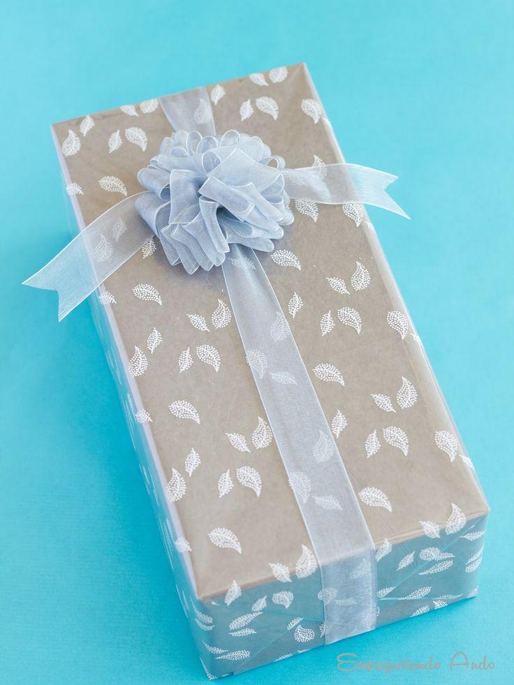 56 best ideas about ideas para envolver regalos wrapping - Papel de regalo original ...