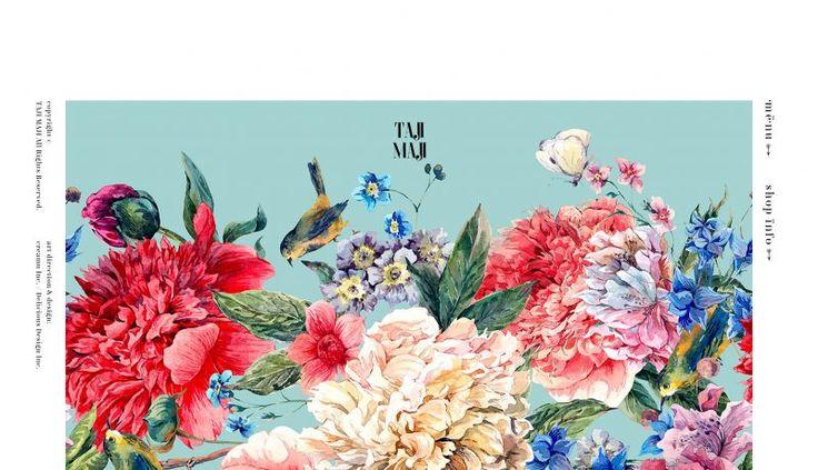 #DOTD Taji Maji by creamu Inc. #Japan #Website