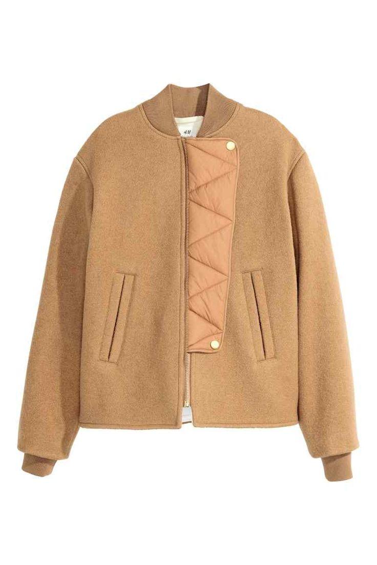 Wełniana kurtka | H&M