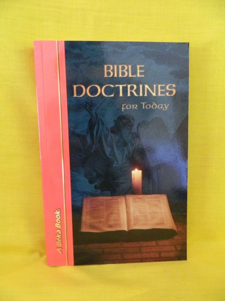 Abeka Bible Doctrines For Today Student 2nd Or 3rd School