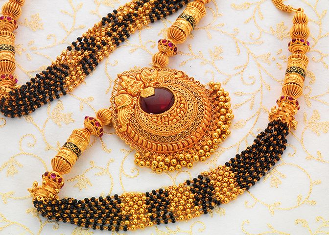 gold tussi necklace - Google Search