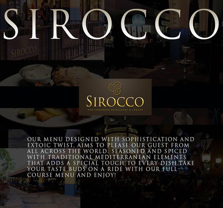 Sirocco Mediterranean Restaurant Lounge Located In Seminole Paradise Address 5791 Way Hollywood Fl 3302 Pinteres
