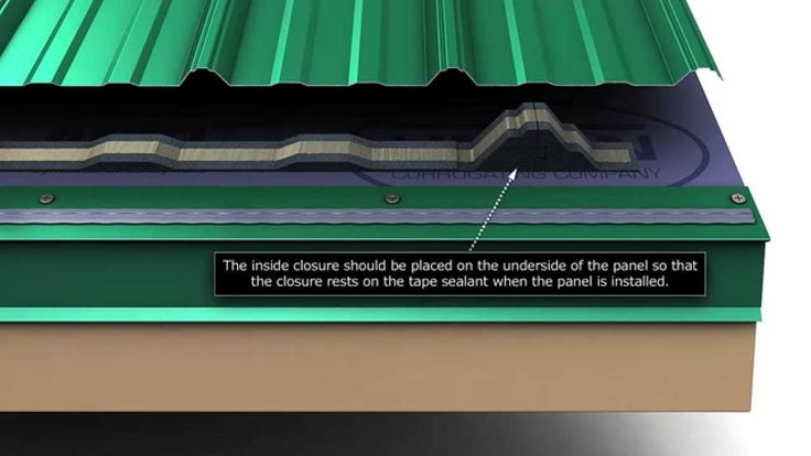 How To Install Union S Masterrib Metal Roofing Panels