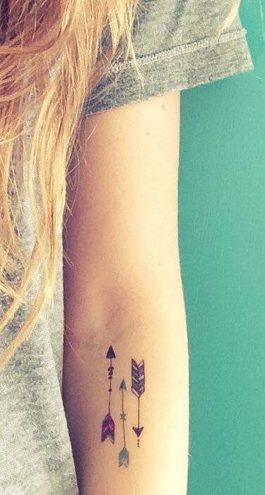 22 Awesome Arrow Tattoos For Women and Men