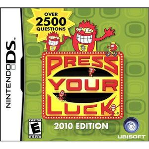 Press Your Luck 2010 Edition - DS Game