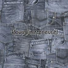 Denim&co 137737 van Esta home many jeans behang bij kleurmijninterieur.nl
