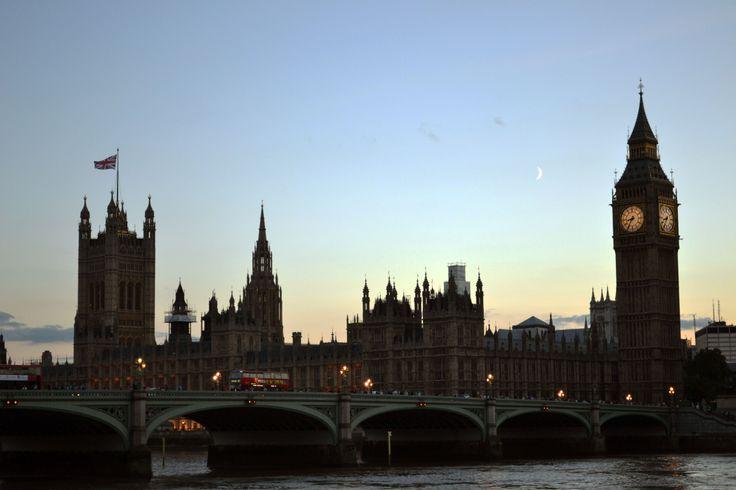 Big Ben, London, by L.M.R.