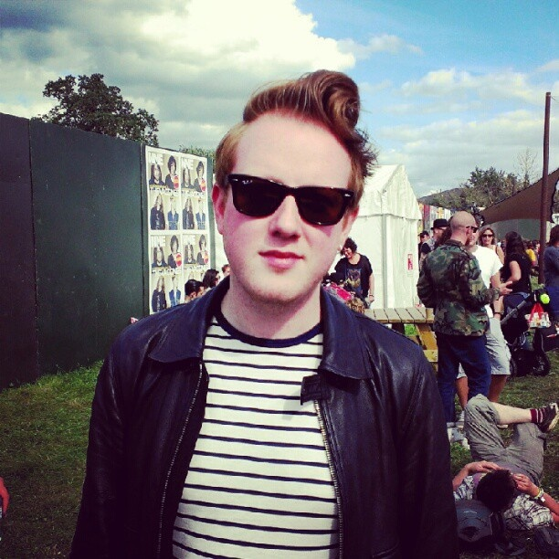 We spotted Alex from Two Door Cinema Club at Reading Fest! - Company Magazine