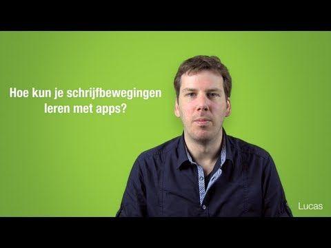 Hoe kun je schrijfbewegingen leren met apps