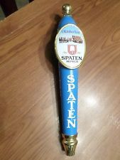 "Nice Spaten Munich 2 Badge Oktoberfest 12.5"" Beer Keg Tap Handle Marker Knob"