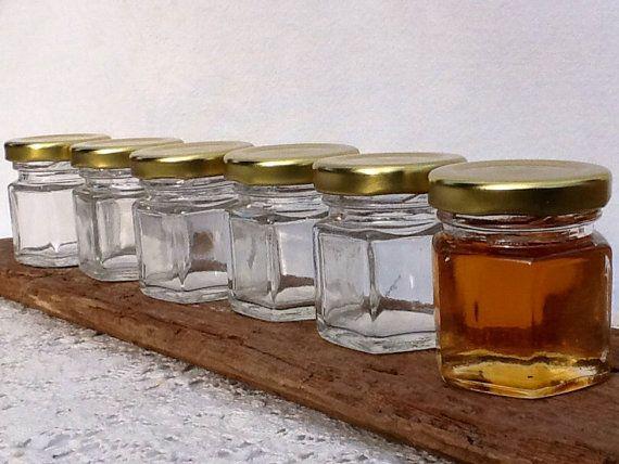 15 vacío de 1.5 oz miel tarros de miel favorece por FestivalReGlass