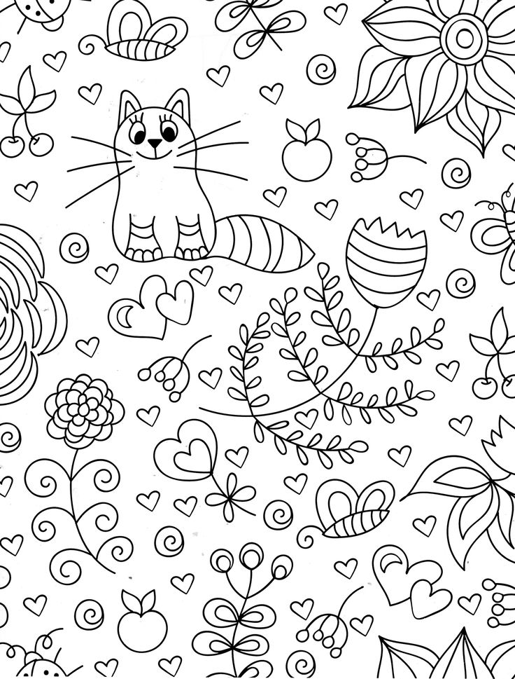 colorama coloring pages colored - photo#49
