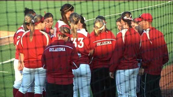 OU Softball: Sooners Clinch Share Of Fourth Straight Big 12 Titl - News9.com - Oklahoma City, OK - News, Weather, Video and Sports |