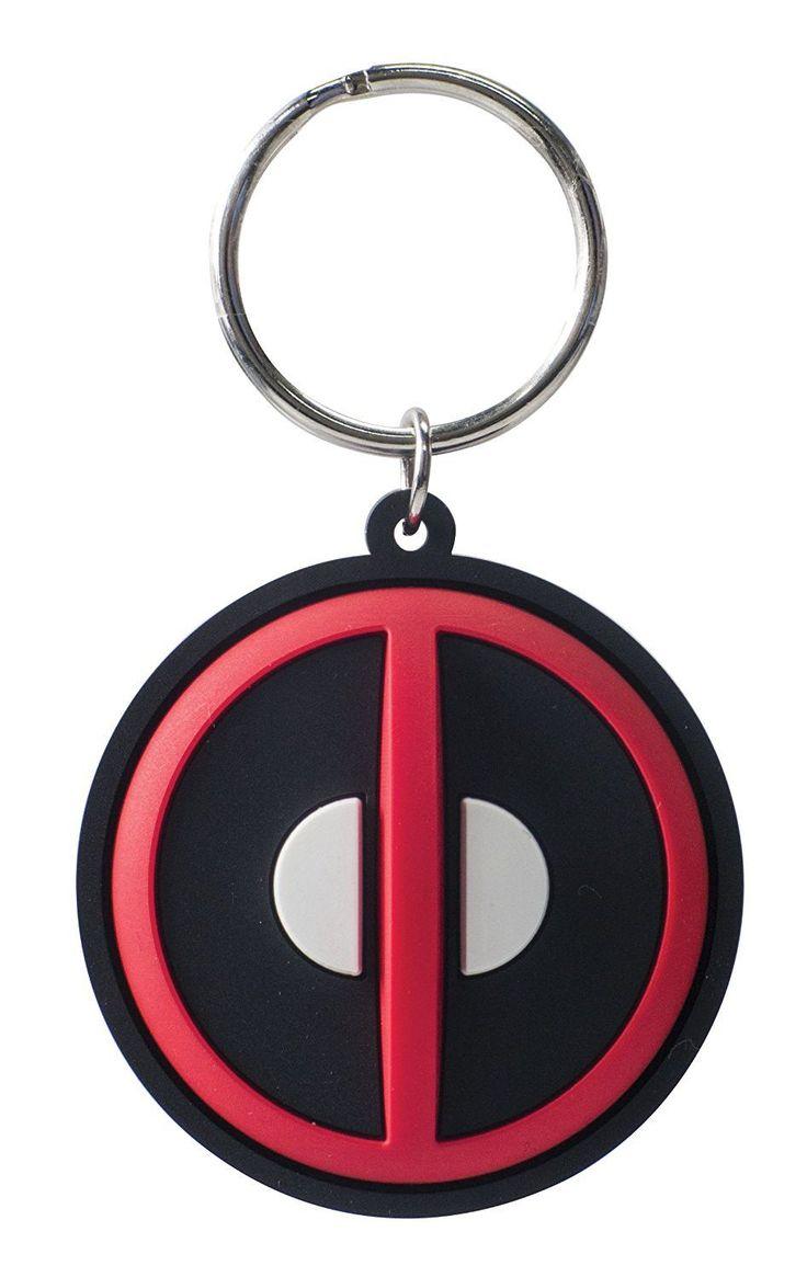 Deadpool Emblem Keychain