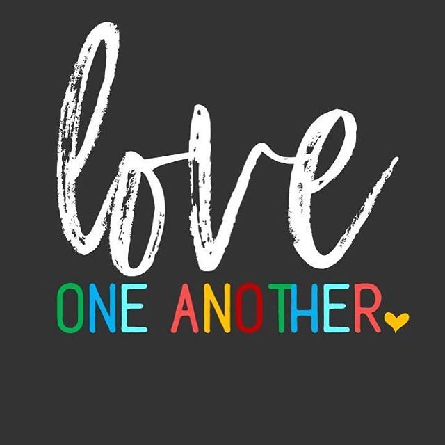 """A new command I give you: Love one another. As I have loved you, so you must love one another. By this everyone will know that you are my disciples, if you love one another."" ❤️ John 13:34-35 #sundayscripture"
