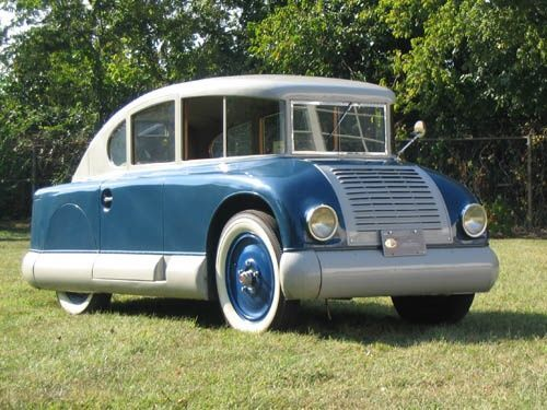 STRANGE OLDE CLASSIC CARS - 1928 MARTIN AERODYNAMIC - FIRST OF MANY DESIGNS TO HELP AIRFLOW