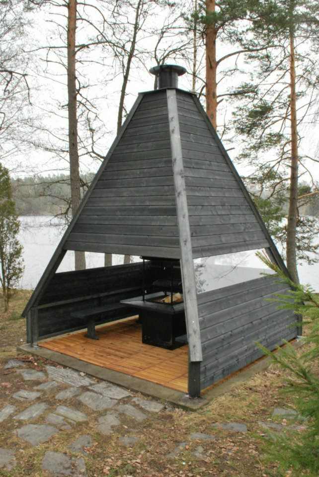 The Keo Kota garden lodge is great for barbequing, relaxing, or entertaining. This lodge is the latest in our Arctic garden exterior portfolio, made from high quality wood from Northern Finland's sustainable forests. The Keo Kota was designed by Finnish designer Marco Lindh (Studio Lindh) from Espoo.