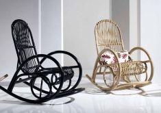 Mecedoras Vintage de Rattan : Modelo DONOMAR