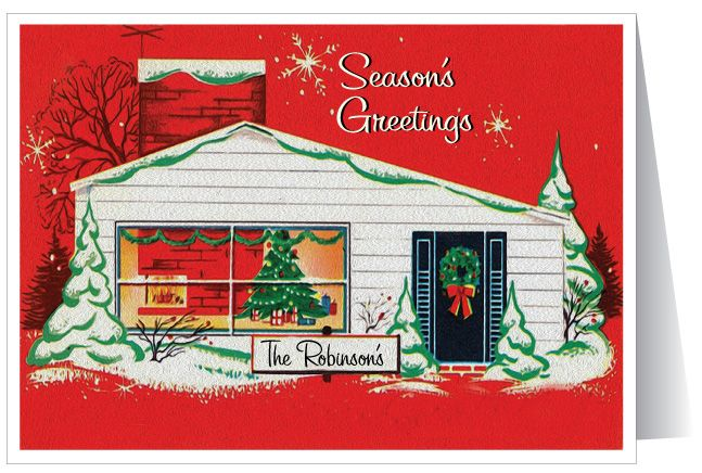 Madeline S Memories Vintage Christmas Cards: 78 Best Images About Mid-Century Modern Holiday Christmas