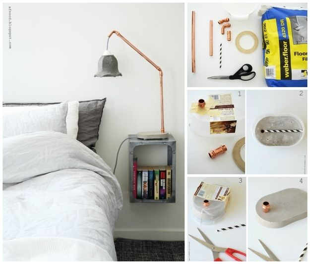 A Simple Bedside Lamp