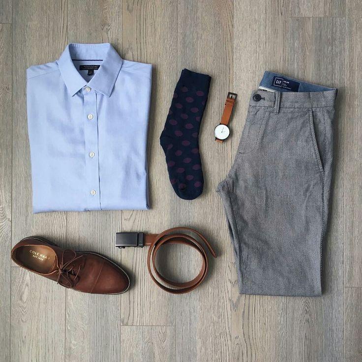 Capsule Wardrobe Outfit Formulas  #mens #fashion