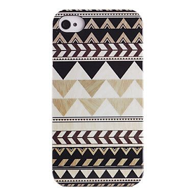 Joyland Grey Black Repeating Pattern ABS Back Case for iPhone 4/4S – BRL R$ 13,21
