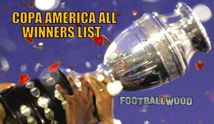 COPA AMERICA ALL WINNERS