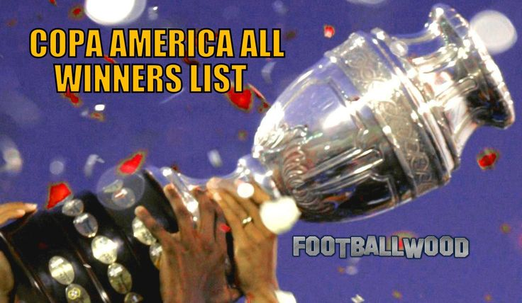 COPA AMERICA ALL WINNERS