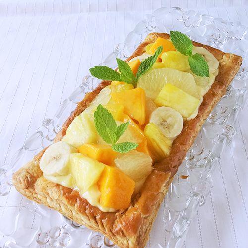 トロピカルフルーツのパイ