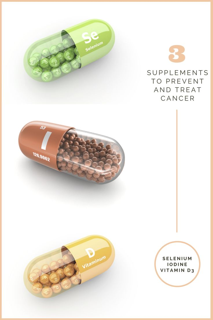 3 supplements to treat and prevent cancer