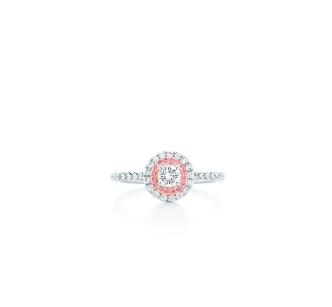 Tiffany Ring w/ pink diamonds. Yes please!!! It's only $5,500.00