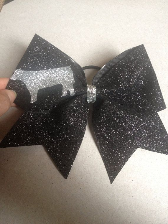 Who wants to buy me this! Stock Show Cheer Bow on Etsy, $11.00